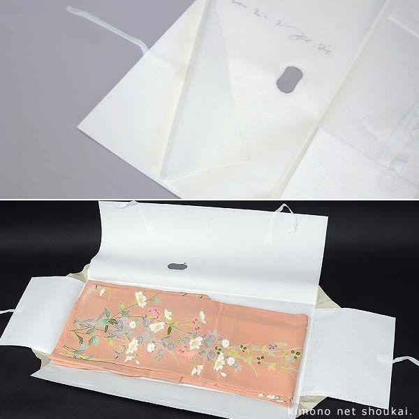 【きもの用 たとう紙 おあつらえ 1枚】(文庫)和紙 きもの保存 薄紙入り 窓付き 収納|kimono-japan|04