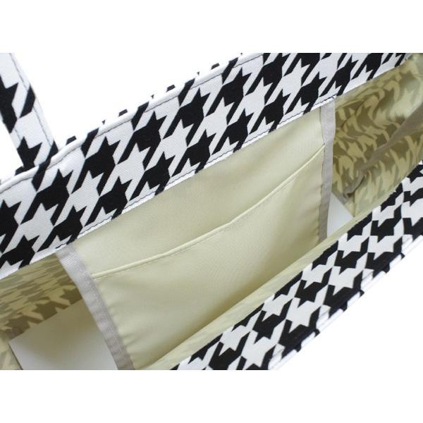 バッグ レディース 単品 白 黒 モノトーン 千鳥 柄 女性 バッグ 着物 トートバッグ 手提げ カジュアル 和装 和服 きもの レトロ