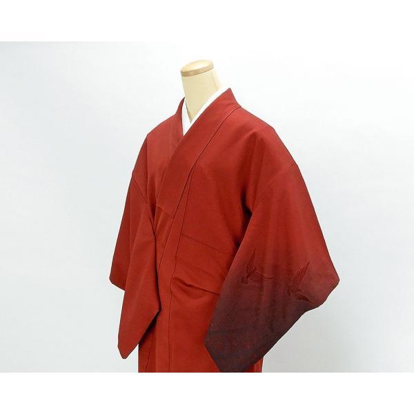 訪問着 正絹 染色作家 斉藤三才作 訪問着 美品 リサイクル 着物|kimono-syoukaku|03