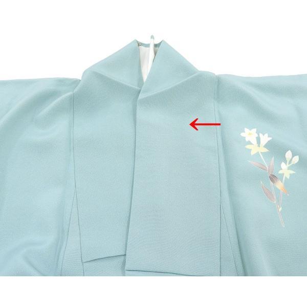 訪問着 正絹 加賀友禅 百貫石峰 付下訪問着 良品 リサイクル 着物 kimono-syoukaku 07