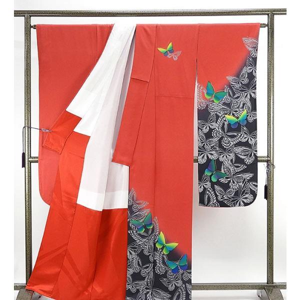 振袖 正絹 染色作家 斉藤三才作 振袖 美品  リサイクル  着物|kimono-syoukaku|02