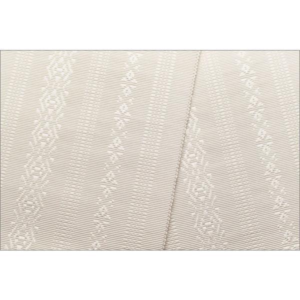 長尺の伊達締め 本場筑前 博多織 正絹 白色|kimono-waku|02