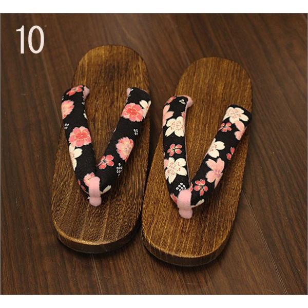下駄 レディース 女性 Lフリーサイズ |kimono-waku|11