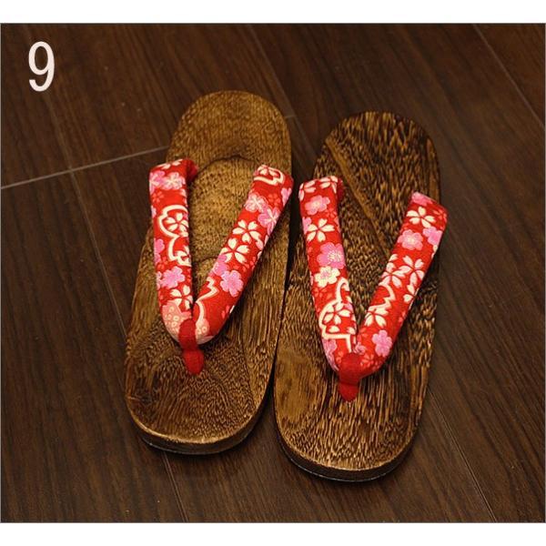 下駄 レディース 女性 Lフリーサイズ |kimono-waku|10