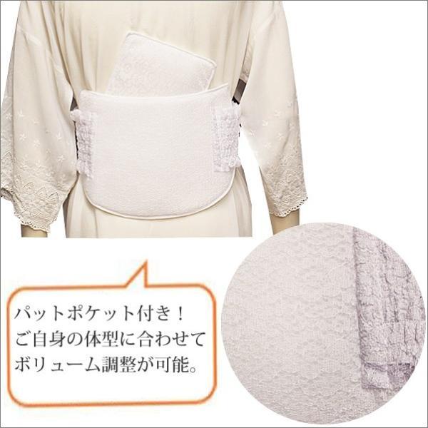ヒップパット M / L サイズ あづま姿 着物の補正下着として お尻パッド|kimono-waku|02
