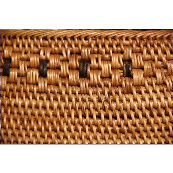 浴衣用の籠バッグ(アタ)17-5.巾着付き