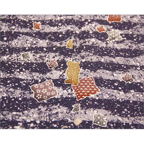 正絹 着物 仕立て上がり(袷・付け下げ訪問着) 17-4.一斤染(いっこんぞめ)地に菊柄・Mサイズ相当|kimono-waku|05