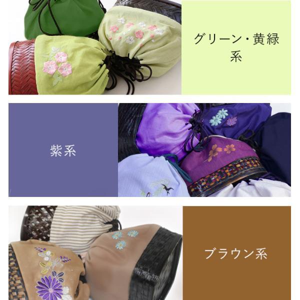 在庫限り 浴衣 かご 巾着 バッグ 激安 おまかせカゴ巾着|kimonocafe-y|03