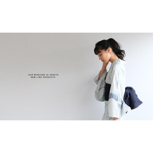 浴衣 帯 兵児帯 リネンリップル兵児帯 麻の大人兵児帯 浴衣帯 リネン|kimonocafe-y|02