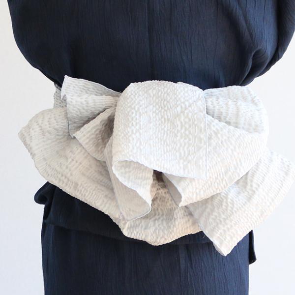 浴衣 セット 2点セット 水玉 ネイビー 麻 兵児帯 浴衣セット kimonocafe フリーサイズ Sサイズ ワイドサイズ TLサイズ|kimonocafe-y|04