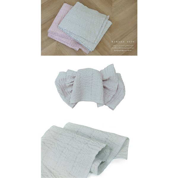 浴衣 セット 2点セット ライン モノトーン 麻 兵児帯 浴衣セット kimonocafe フリーサイズ Sサイズ ワイドサイズ TLサイズ kimonocafe-y 05