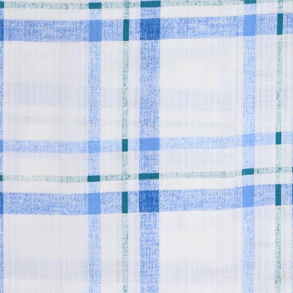 浴衣 セット 2点セット チェック ブルー 麻 兵児帯 浴衣セット kimonocafe フリーサイズ Sサイズ ワイドサイズ TLサイズ|kimonocafe-y|03
