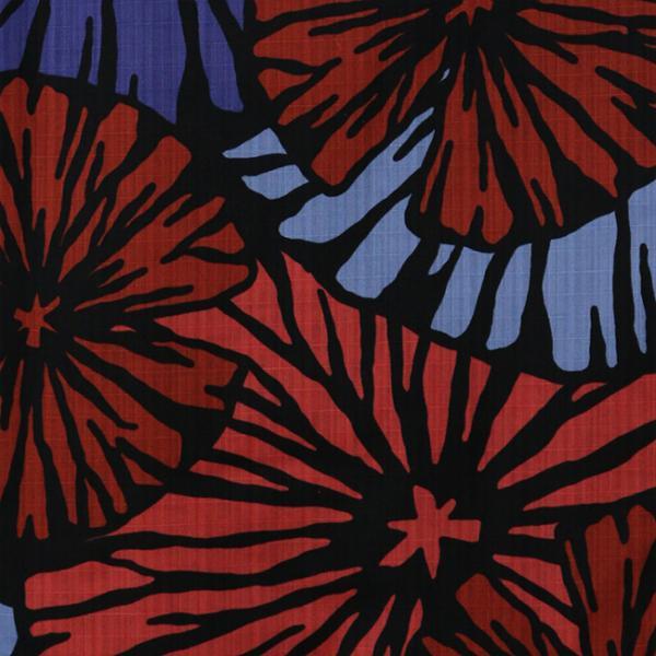 浴衣 セット 2点セット 花火 ブルー 麻 兵児帯 浴衣セット kimonocafe フリーサイズ Sサイズ ワイドサイズ TLサイズ|kimonocafe-y|03