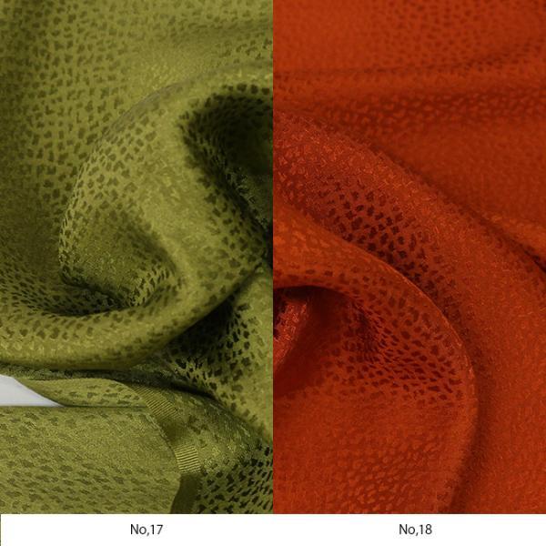 シルク 綸子 絹 10cm 単位 カット 吹雪 地模様 無地 正絹 手作り 和小物 和雑貨 20色 綸子|kimonocafe-y|15