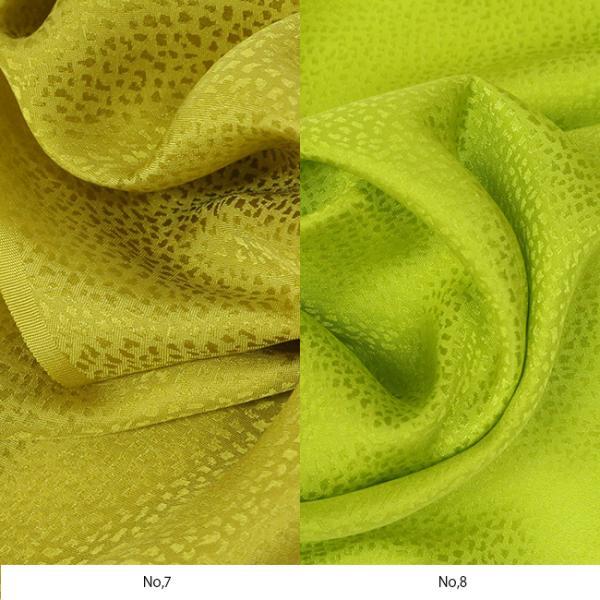 シルク 綸子 絹 10cm 単位 カット 吹雪 地模様 無地 正絹 手作り 和小物 和雑貨 20色 綸子|kimonocafe-y|10