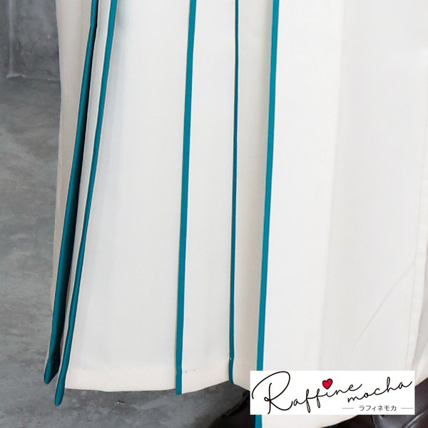 2020新作 Raffine mocha ラフィネモカ 二尺袖着物+重ね衿+袴 3点セット 袴4サイズ S M L LL 女子 レディース 卒業式 大人 女の子 小学生 RM-2 hakama-lds05|kimonohiroba-you|05