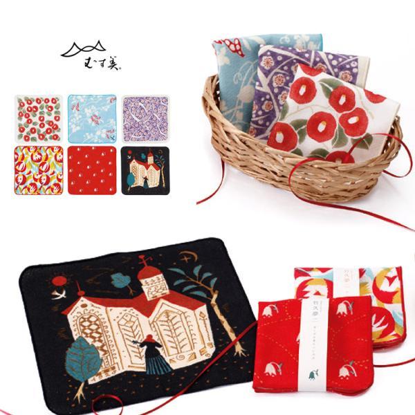 夢二ガーゼタオル 竹久夢二(全6柄)  wco-fc1701|kimonohiroba-you