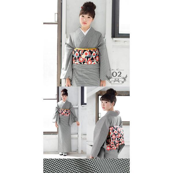 木綿着物と木綿の名古屋帯の2点木綿着物セット (メール便不可)|kimonomachi|03