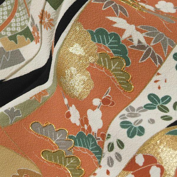 お仕立て上がり黒留袖「誰が袖」紋入れ代込み 正絹着物 留袖 高級プレタ (メール便不可)ss1909kr160|kimonomachi|05