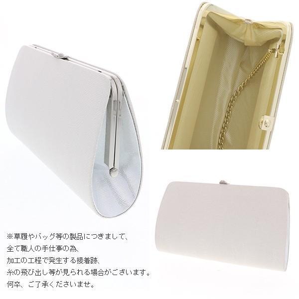 フォーマル草履バッグセット 「銀」佐賀錦 M、L フォーマル 礼装 (メール便不可) kimonomachi 03