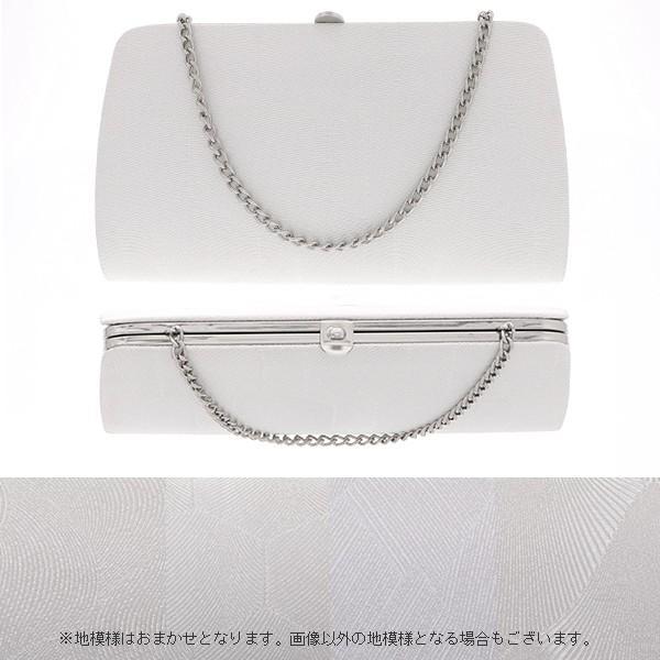 フォーマル草履バッグセット 「銀」佐賀錦 M、L フォーマル 礼装 (メール便不可) kimonomachi 04