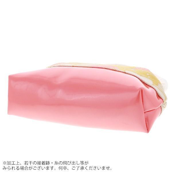 七五三 草履バッグセット「白×ピンク色 桜と松葉」女の子の着物 乙葉 七五三草履 7歳向け HB-2|kimonomachi|03
