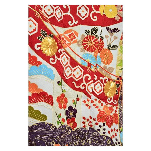 染の名門【青柳】最高級逸品振袖・紫地古典柄|kimonotanaka|04