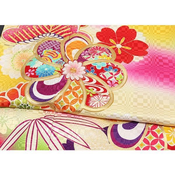 振袖セット 成人式 お誂え仕立付 正絹京友禅振袖フルセット|kimonowashou|05