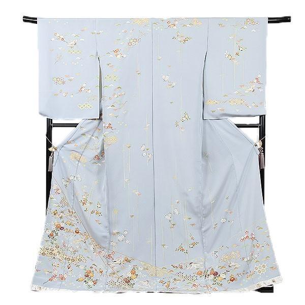 訪問着 正絹京友禅訪問着 お誂え仕立て付 悠久の風|kimonowashou