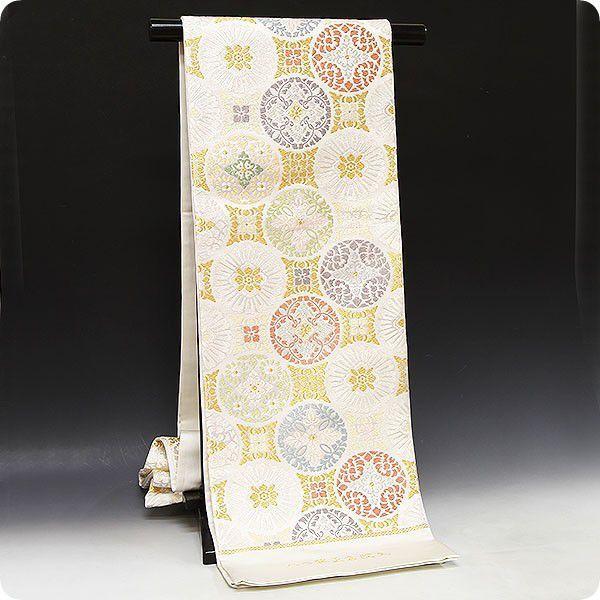 袋帯 高島礼子さん着用柄・正絹唐織袋帯 八つ藤正倉院文|kimonowashou