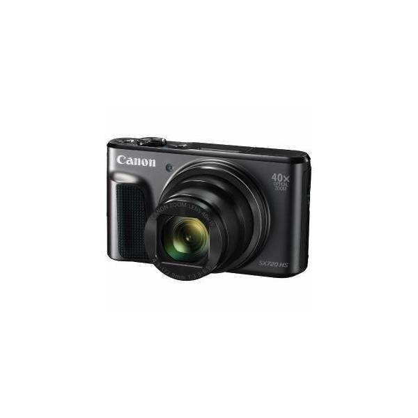 「納期約3週間」PSSX720HS(BK)[CANON キヤノン] デジタルカメラ PowerShot パワーショット SX720 HS ブラック PSSX720HSBK