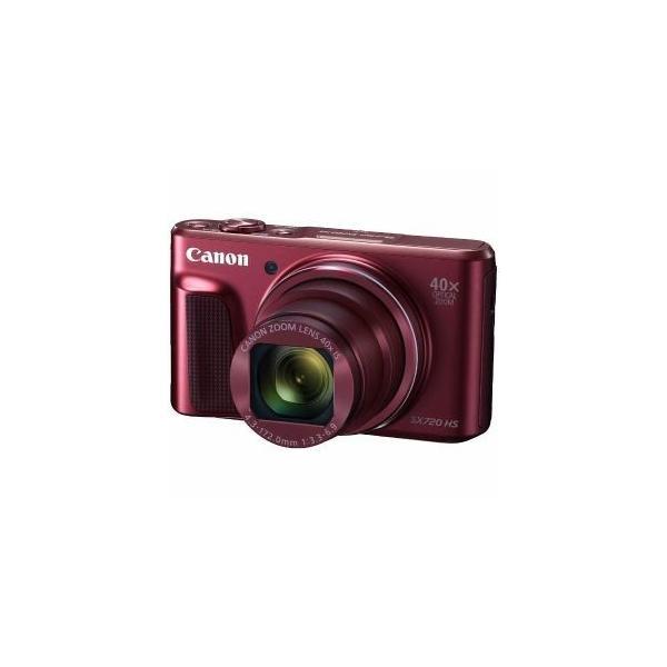 「お一人様1台限り」「納期約1〜2週間」PSSX720HS(RE)[CANON キヤノン] デジタルカメラ PowerShot パワーショット SX720 HS レッド PSSX720HSRE