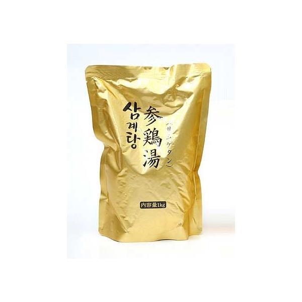 業務用韓国宮廷料理 サンゲタン レトルト1kg×12袋 (サムゲタン 参鶏湯) 【常温・冷蔵・冷凍可】【送料無料】|kimuyase|04