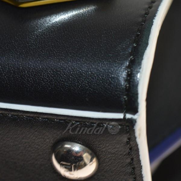 FENDI 8BH333-5C3 MINI 3JOURS ショルダーバッグ ブラック (堀江店) 190211