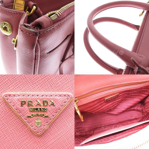 PRADA サフィアーノ 2WAYショルダーバッグ BN2863 ピンク (フレスポ東大阪店) 190117