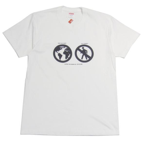 SUPREME 2019AW Save The Planet Tee 半袖Tシャツ ホワイト サイズ:S (元町店) 200522