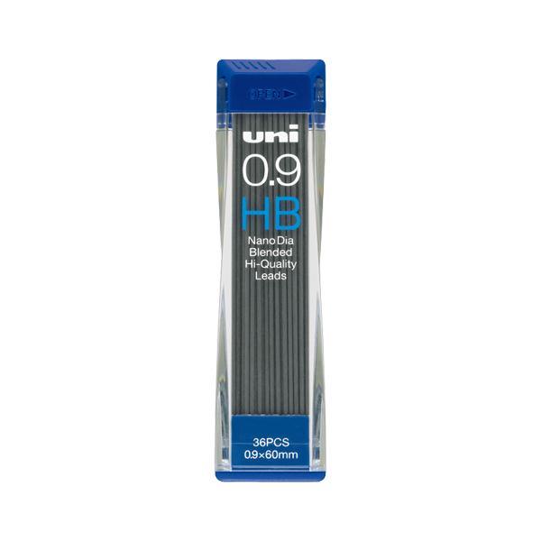 三菱鉛筆 ユニシャープ芯ナノダイヤ0.9 HB x 1個 【70705】【AC】/文具 ナノダイヤ0.9MMシン(36ホンイリ)【送料無料】