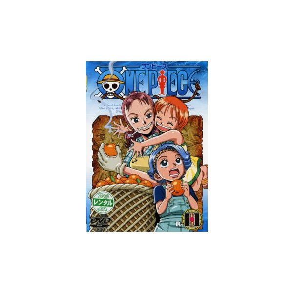 ONEPIECEワンピースR-11(第41話〜第44話)レンタル落ち中古DVD