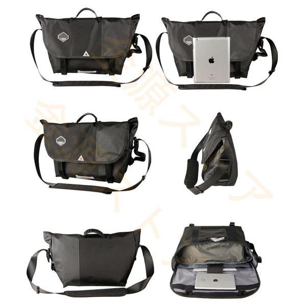 メッセンジャーバッグ メンズ ショルダーバッグ レディース ボディバッグ 斜めがけバッグ 鞄 自転車 通勤 通学 軽量 大容量 アウトドア