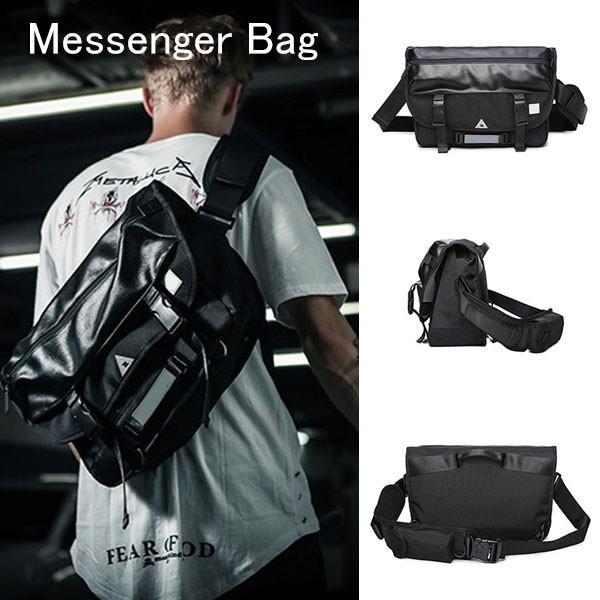 メッセンジャーバッグ メンズ ショルダーバッグ レディース ボディバッグ 斜めがけバッグ 鞄 自転車 通勤 通学 軽量 大容量 アウトドア kingen