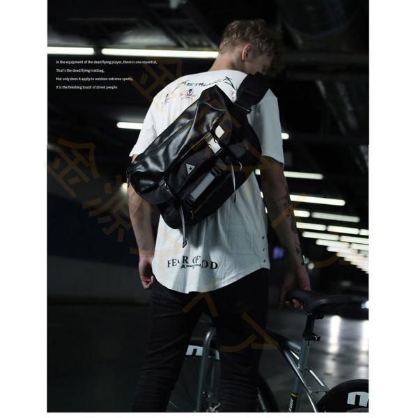 メッセンジャーバッグ メンズ ショルダーバッグ レディース ボディバッグ 斜めがけバッグ 鞄 自転車 通勤 通学 軽量 大容量 アウトドア kingen 07