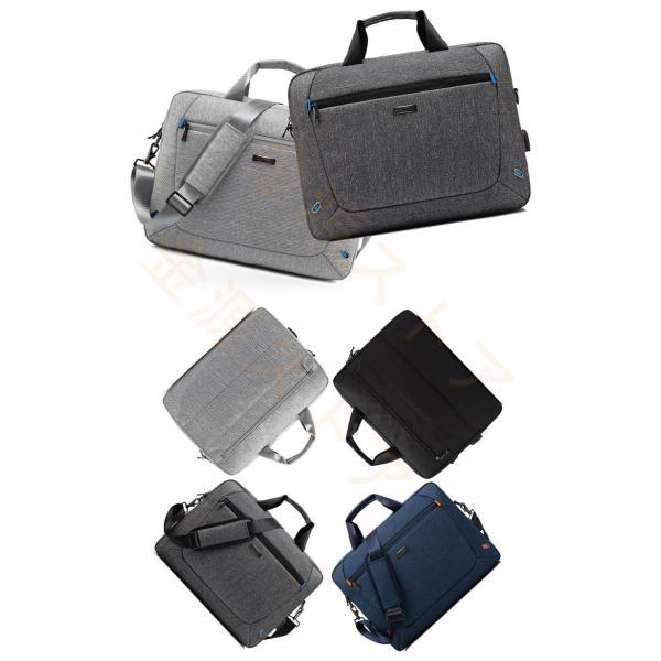 ビジネスバッグ メンズ レディース パソコンバッグ ショルダーバッグ ハンドバッグ 2way 大容量 通勤 通学 撥水加工 耐衝撃 撥水加工 USB充電ポート|kingen|04