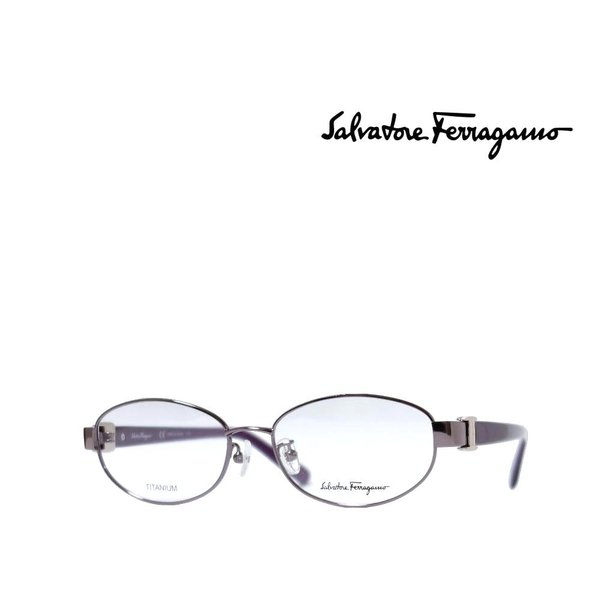 【Salvatore Ferragamo】 サルヴァトーレ フェラガモ メガネフレーム SF2525A 531 シャイニーパープル 国内正規品
