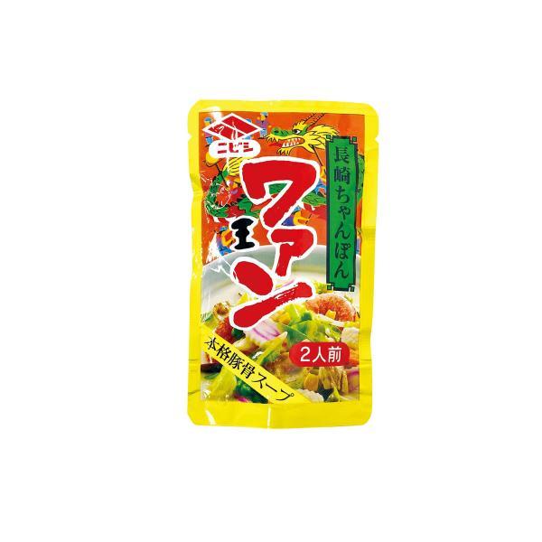 ニビシ醤油 ワァン 長崎ちゃんぽんスープ 80g 2人前