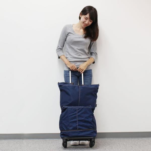 キャリーバッグ 旅行 カート トートバッグ かわいい 人気 4輪 軽量 軽い 4WAY  一泊二日 二泊三日 国内旅行 キャリーカート アベル|kinmokusei|06