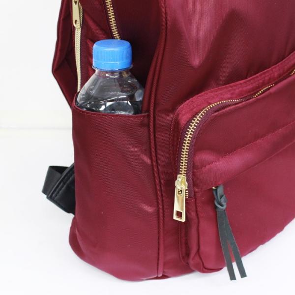 ナイロン 人気リュック レディース マザーズリュック おしゃれ 通学 かわいい 通勤バッグ 通勤リュック おすすめ A4 女性 軽い 軽量 撥水 はっ水 エレスペール|kinmokusei|08