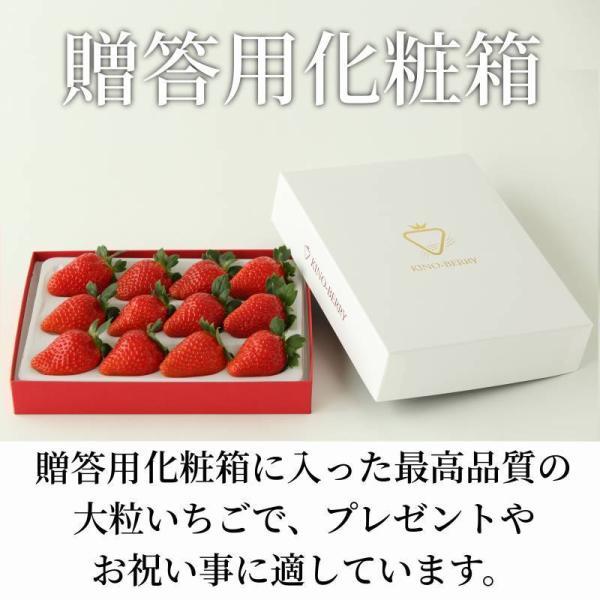 いちご まりひめ ギフト 贈答用 [送料無料] 和歌山県産 紀のベリー(ゴールド)|kino-farm|04