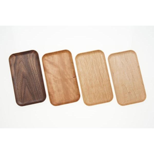 木製トレー キャッシュトレイ 名入れ対応可 天然木削り出し 癒しのデスクトレイ|kinokura|02