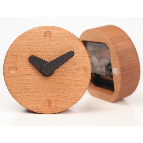 木の置き時計 シンプルナチュラルな木製 kinokura 03
