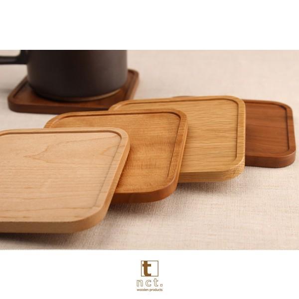 木のコースター ラウンド&スクウェアタイプ 名入れ対応可 天然銘木使用|kinokura|04